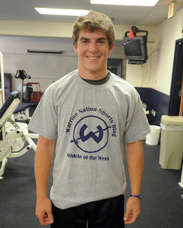 Wilton QB Sean Carroll wins his second Warrior Nation Sports Blog/Trackside Teen Center Athlete of the Week Award