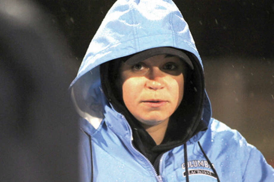 Hour Photo/John Nash - Caitlin Jackson has resigned after just one year as the head girls lacrosse coach at Wilton.