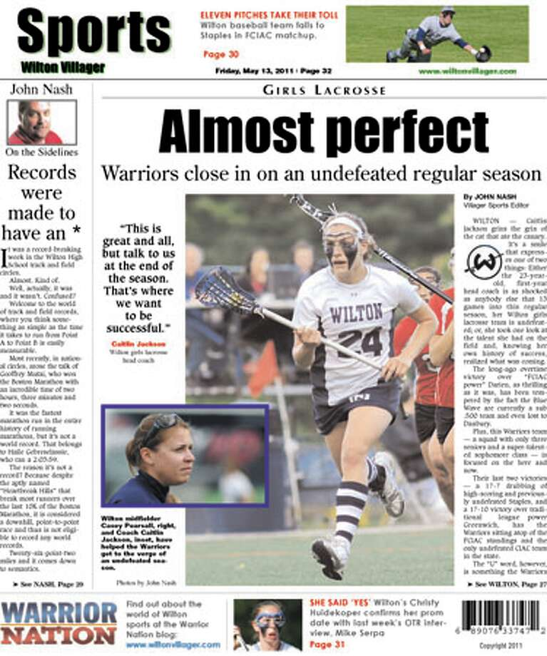 This Week in the Wilton Villager (May 13, 2011 edition)