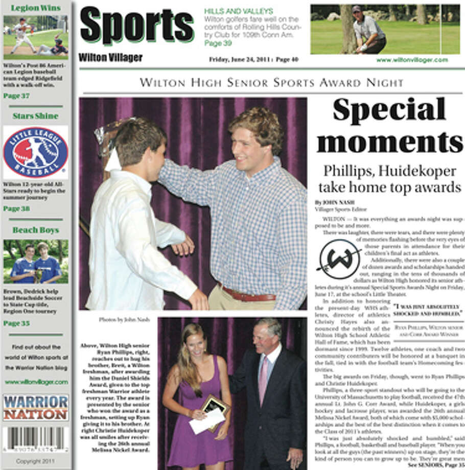 This week in the Wilton Villager (June 24, 2011 edition)