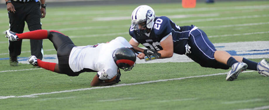 Wilton-Bridgeport Central Football Notebook — Chapter 4 — Sharks have a feeding frenzy