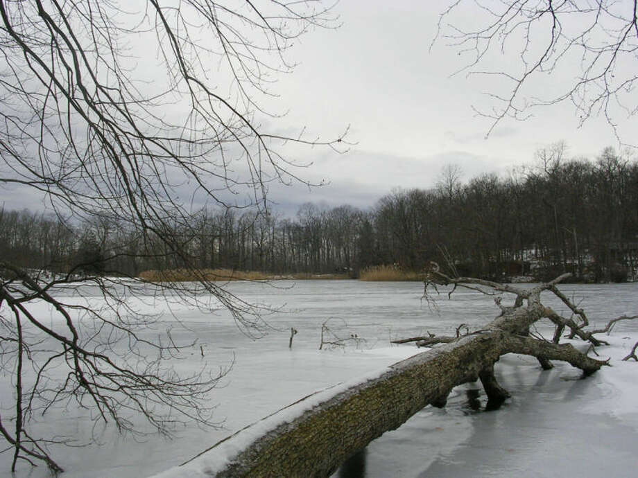 Photo by Rob McWilliams Hemlock Lake in Mountain Lakes Park in Westchester County.