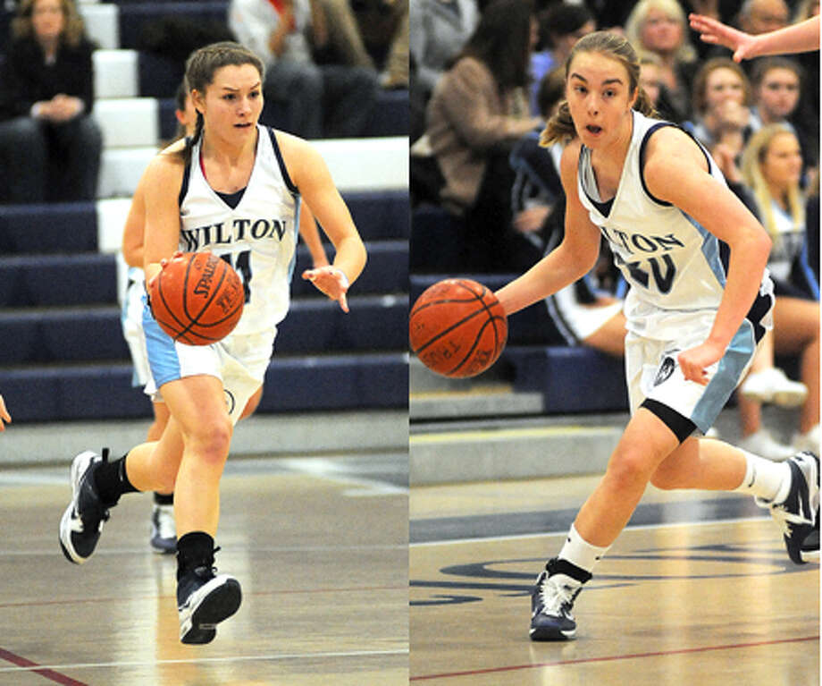 Are Maddy and Casey the FCIAC's best one-two girls basketball punch?