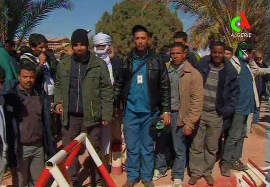/ Canal Algerie  via AP Television