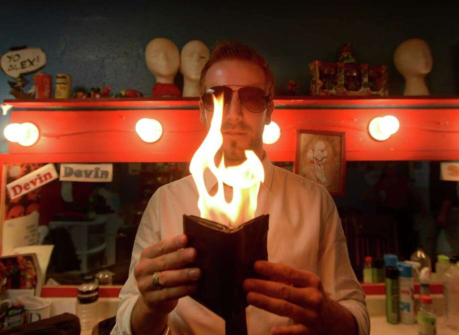 """Magician Scott Pepper is bringing his show, """"The Magician's Agency,"""" back to Magik Theatre this summer.  Photo: Billy Calzada, Staff / San Antonio Express-News / San Antonio Express-News"""
