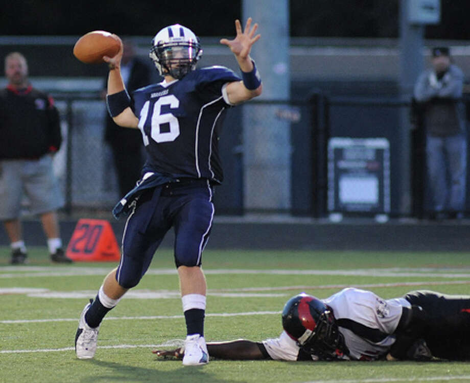 Wilton-Bridgeport Central Football Notebook — Chapter 1 — Warriors had the answer for fourth quarter fatigue