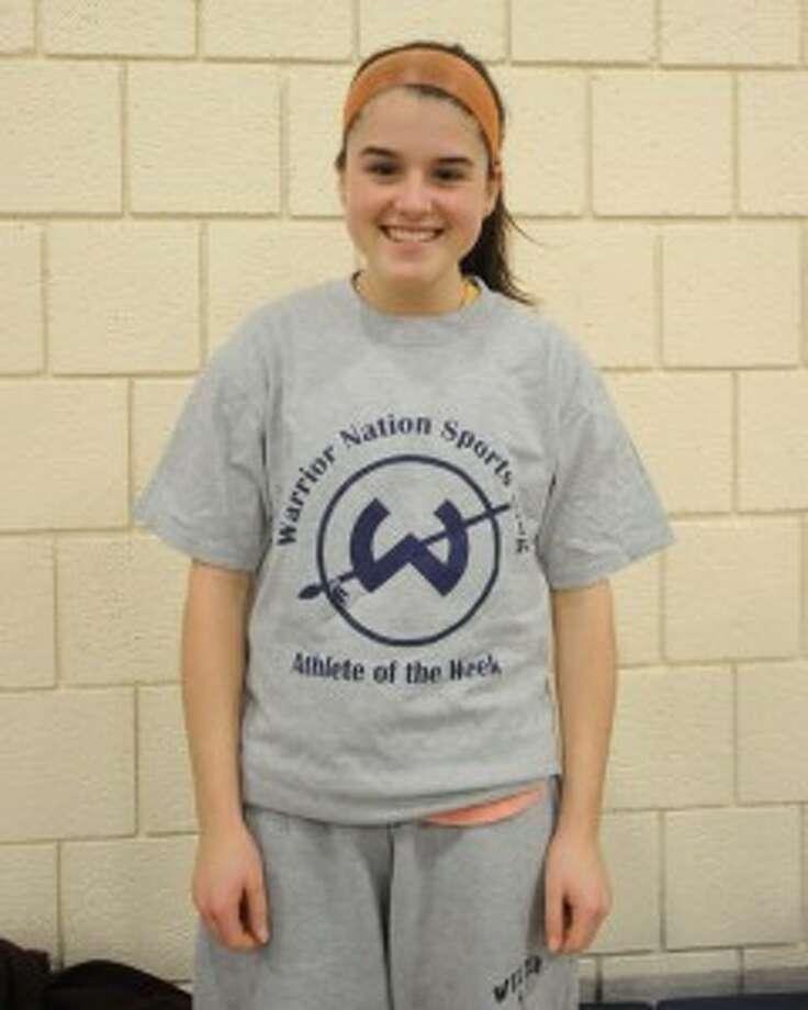Arrix garners second Trackside Teen Center Athlete of the Week award in her career