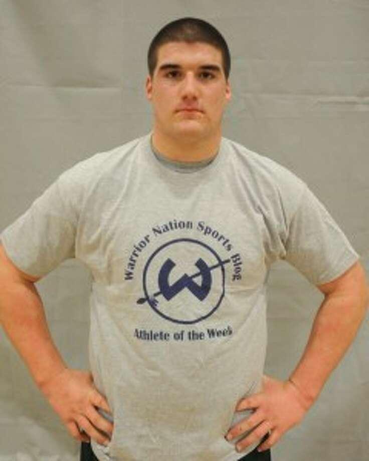 Fraccaroli wrestles to an Trackside Teen Center athlete of the week