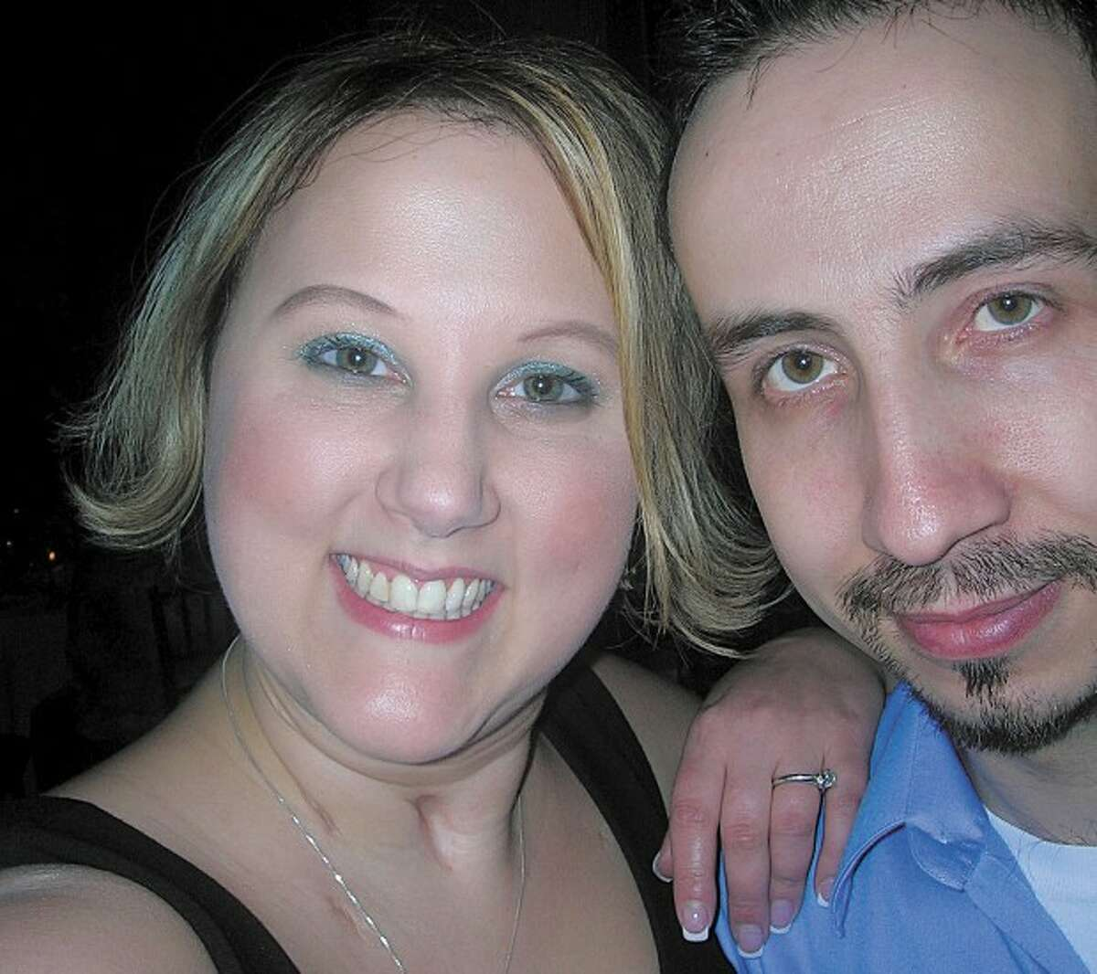 Danielle Waring, a Westhill High School teacher, and Paulo Bernardo will wed at Wilton''s Relay for Life fundraiser on Friday.