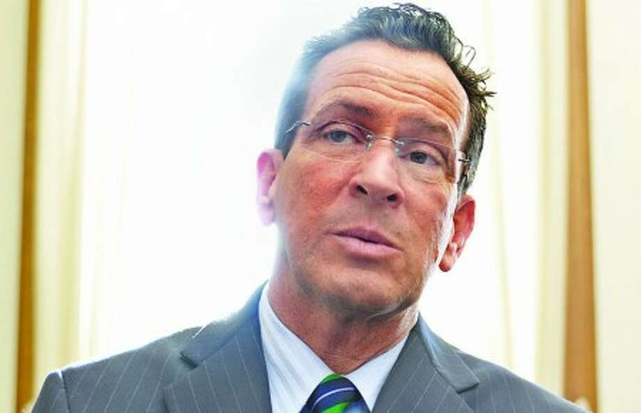 HOUR FILE PHOTO - Gov. Dannel Malloy