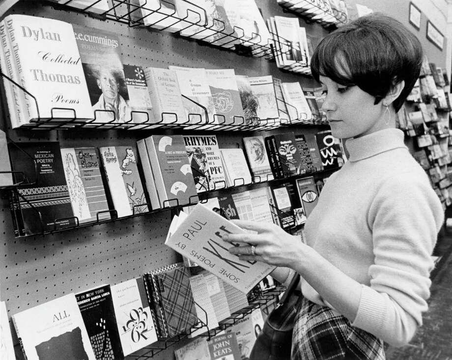 Dvorah Markman, 1967. Photo: Bill Goodwin, Houston Post