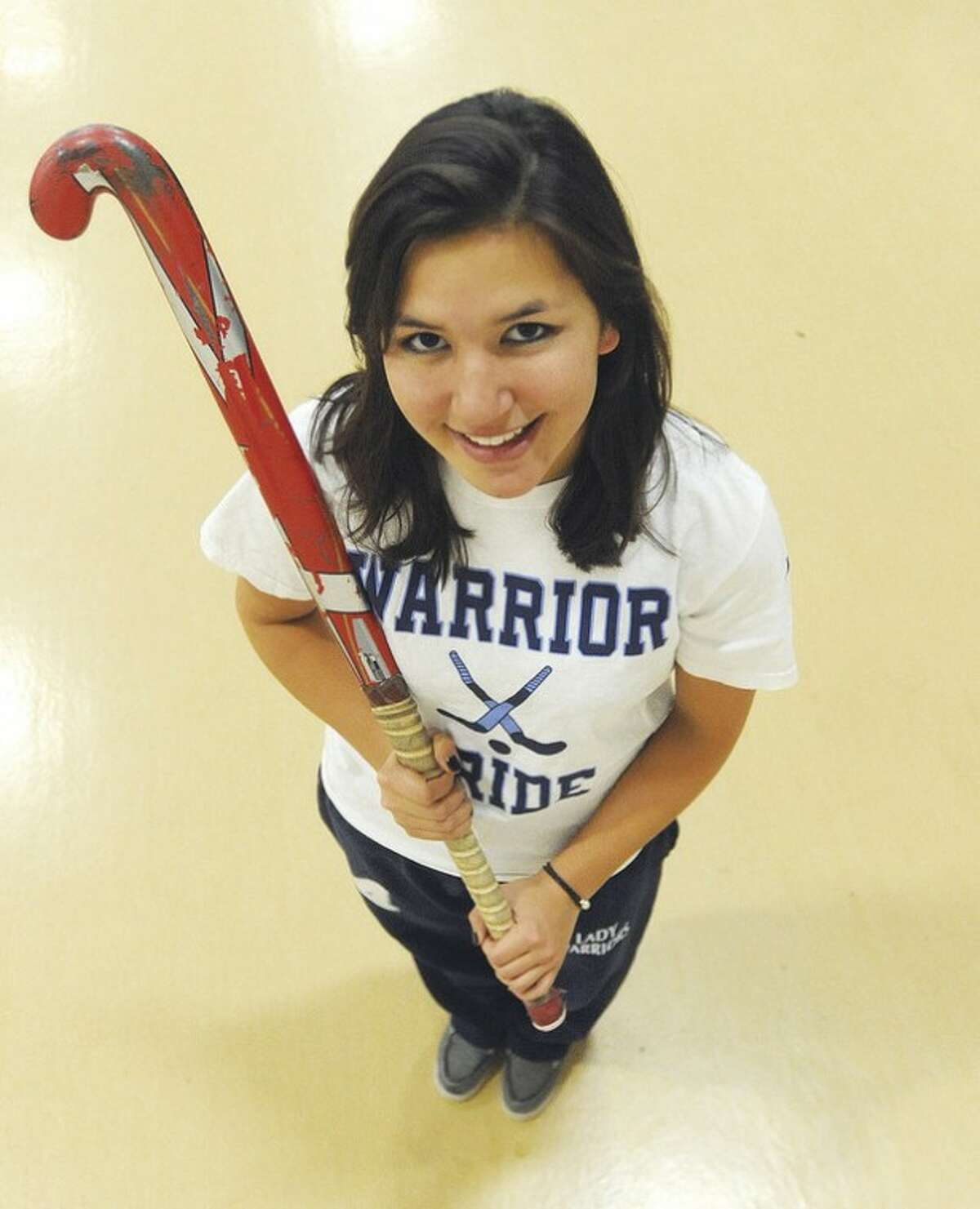 Hour photo/John Nash Wilton's Clare Detrick-Yee has been selected as the MVP on The Hour's All-Area field hockey squad for the second straight year.