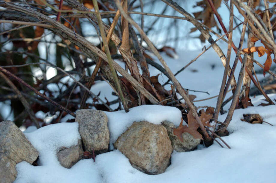 Snow remains on the ground despite some mild winter weather. Hour file photo / DANIELLE ROBINSON