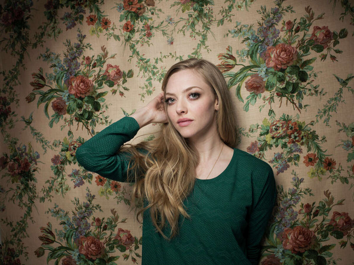 """Amanda Seyfried from the film """"Lovelace"""" poses for a portrait during the 2013 Sundance Film Festival at the Fender Music Lodge, on Tuesday Jan. 22, 2013 in Park City, Utah. (Photo by Victoria Will/Invision/AP Images)"""