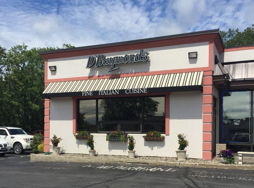 Best Italian restaurant: No. 1: D'Raymonds Restaurant, Loudonville