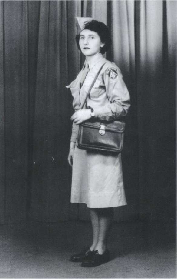 Contributed photo Judy Lippolis seen here atthe age of 18 in her Civil Air Patrol uniform.