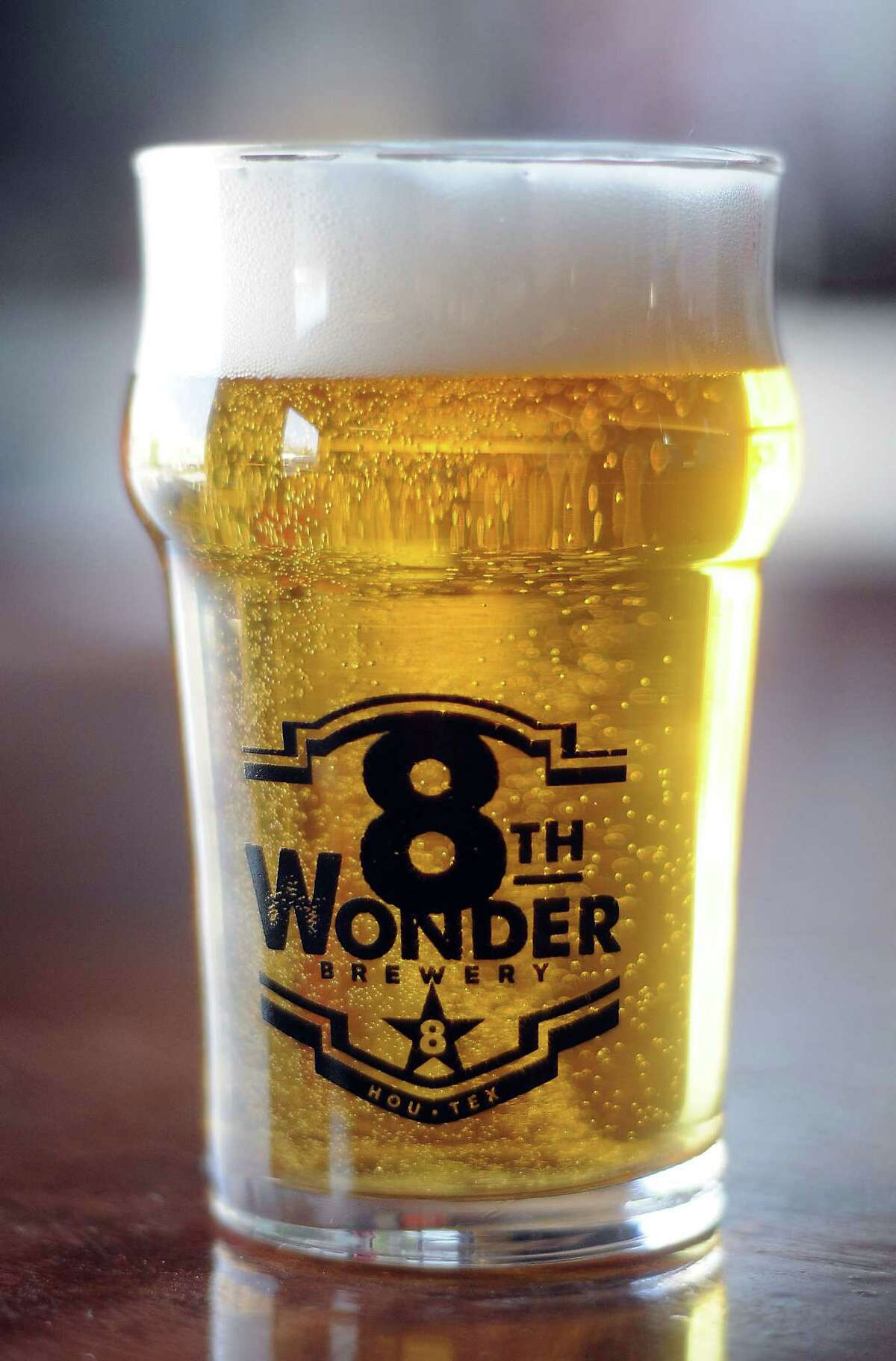 Fresh product at the 8th Wonder Brewery on Dallas St. Thursday March 6, 2014.(Dave Rossman photo)