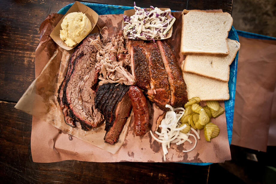 The best BBQ places in Texas as told by Foursquare usersWhy aren't there any Houston-area locations? Because we're too busy eating to check into some app. Photo: Franklin Barbecue / Franklin Barbecue