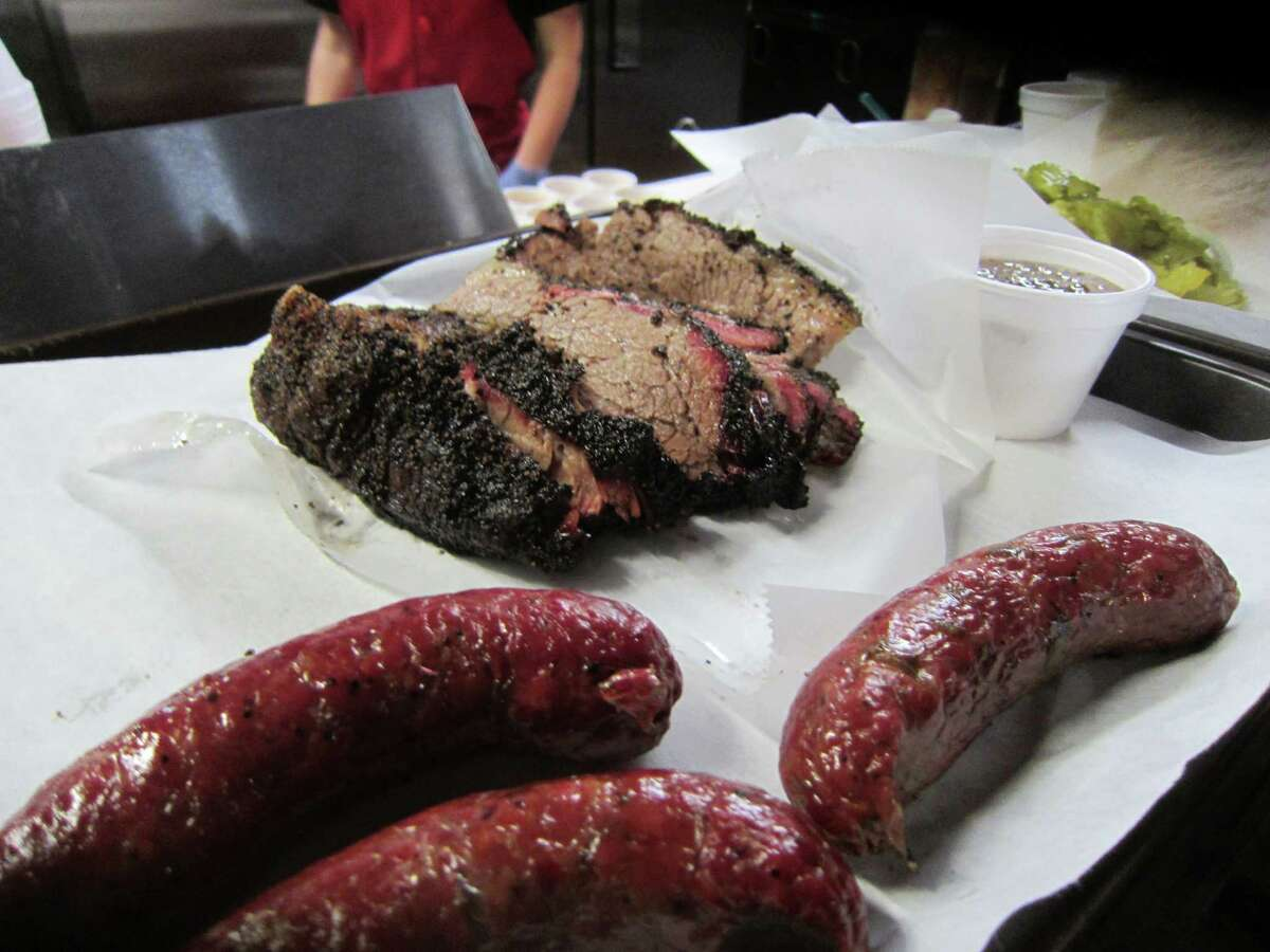 Houston barbecue The owner of Louie Mueller Barbecue in Taylor, Texas recently updated Houstonians on his plan to expand a little further West of Space City. Click through to see the best barbecue and steak spots in Houston.