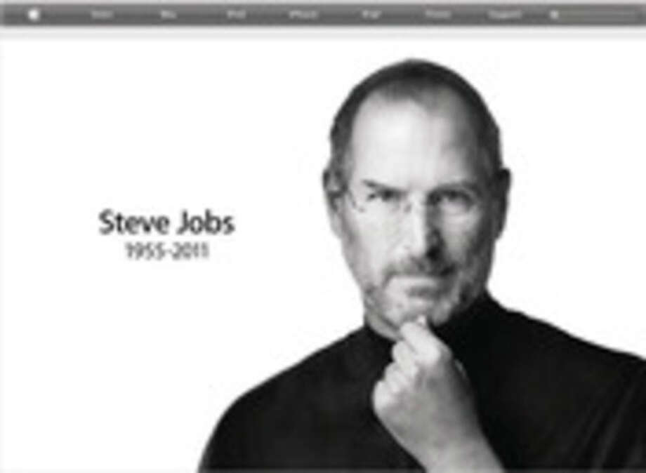 This screen shot taken from apple.com shows a tribute to Apple co-founder Steve Jobs, who died Wednesday, Oct. 5, 2011. / Apple