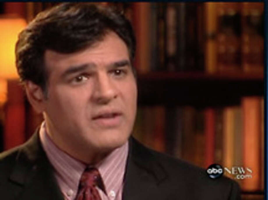 This undated image, taken from video, and provided by ABC News show former CIA officer John Kiriakou interviewed on ABC's World News, Monday Dec. 10, 2007. Kiriakou, who told reporters he participated in the interrogation of terrorist Abu Zubaydah has been charged with leaking classified secrets about CIA operatives and other information to reporters. (AP Photo/ABC News) ** NO SALES ** / ABC News