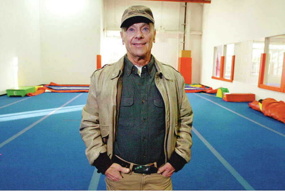 Hour photo / Erik Trautmann Hal Fischel of Fischel Properties stands in part of the Gymnastics and Cheerleading Academy within his Sportplex in Fairfield. / (C)2011, The Hour Newspapers, all rights reserved