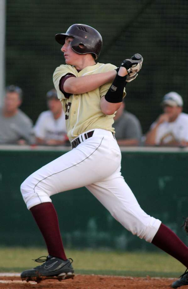Magnolia West's Trevor Stephan was drafted by the Boston Red Sox with the 538th pick in the Major League Baseball draft. Photo: Jerry Baker, Freelance