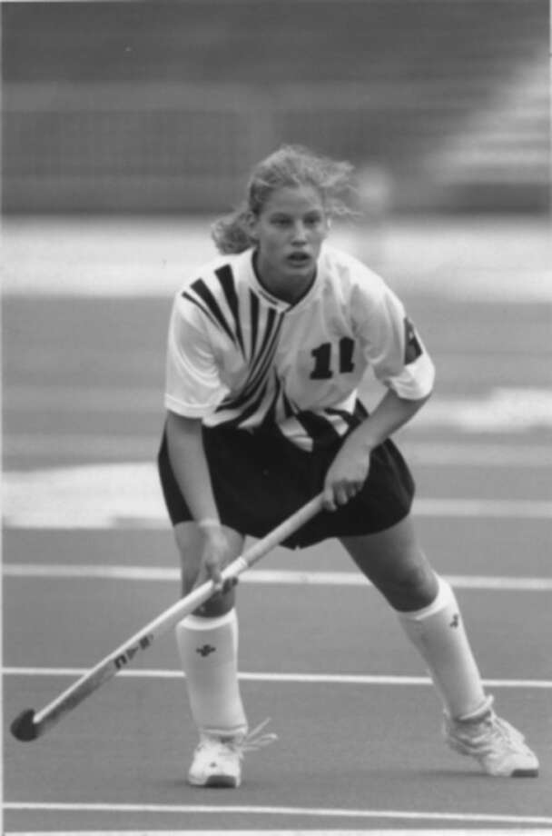 Hour file photo Ellie Karvoski is pictured during her days as a field hockey standout at Northwestern.