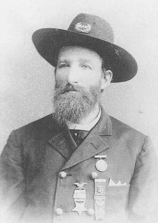 A photo of Norwalker Ed Isaacs'' great great grandfather, George E. Dixon, a Civil War soldier. -- Contributed photo