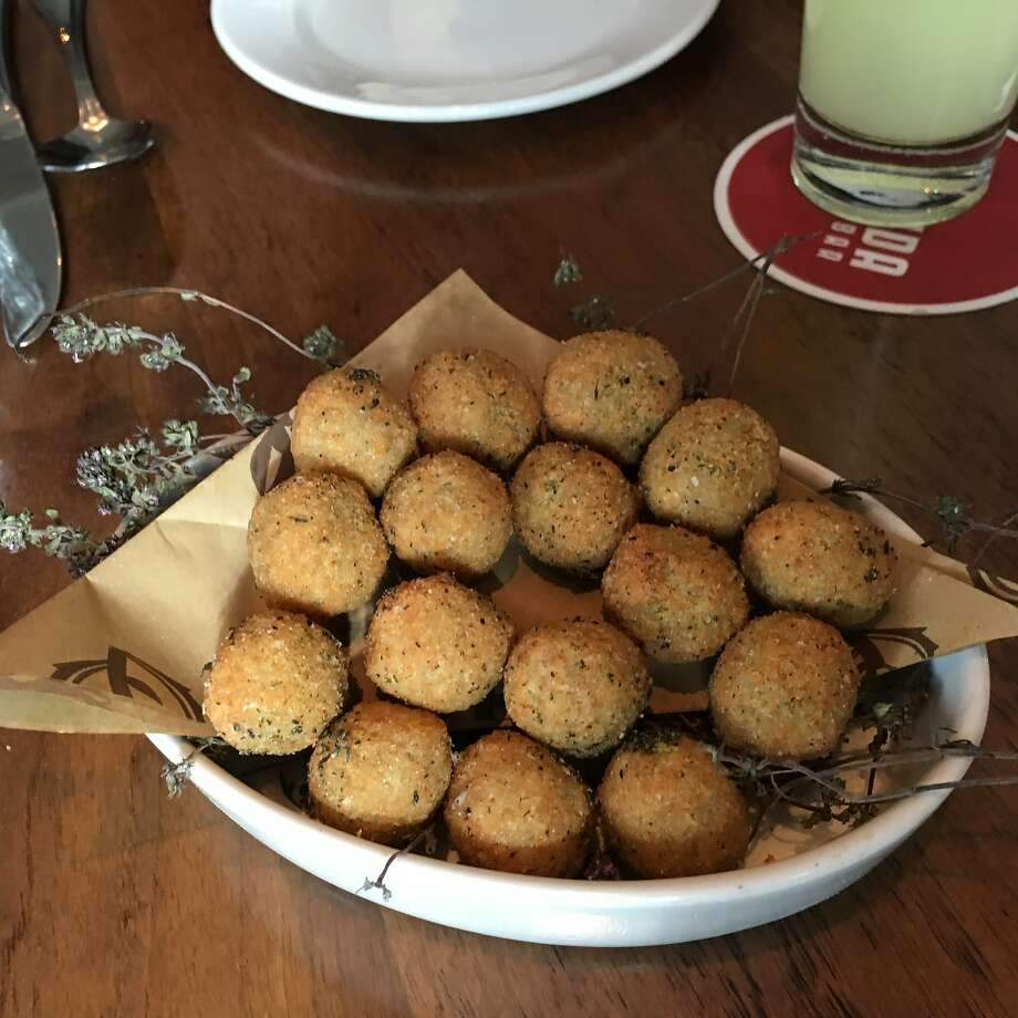Fried Castelvetrano olives at Locanda in S.F. Photo: Michael Bauer, San Francisco Chronicle
