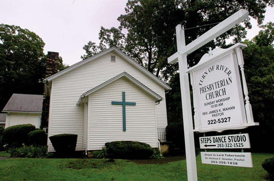Members of the Turn of River Presbyterian Church's congregation will mark the church's 150th anniversary on September 11th. / (C)2011, The Hour Newspapers, all rights reserved