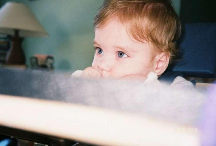 Daniel Jacob as a baby.