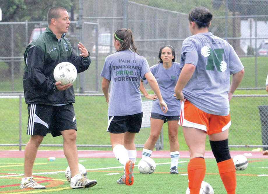 New soccer coach for Norwalk High School Job Fernandez. hour photo/matthew vinci / (C)2011, The Hour Newspapers, all rights reserved