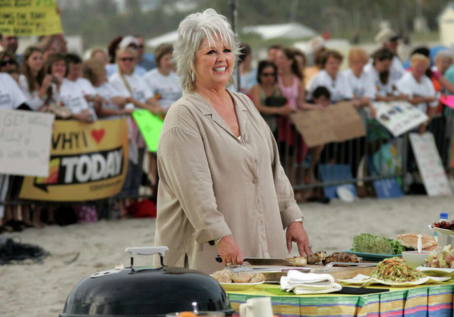 FILE- This Friday, Feb. 22, 2008 file photo shows celebrity chef Paula Deen as she waits to make an appearance on the Today Show in Miami Beach, Fla. Deen recently announced that she has Type 2 diabetes. (AP Photo/J. Pat Carter, file) / AP2008