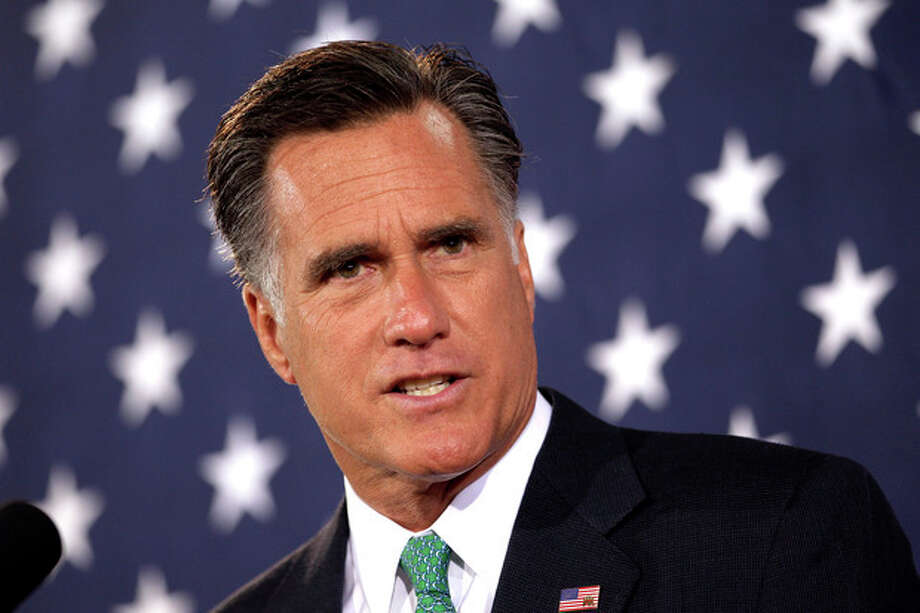 Republican presidential candidate, former Massachusetts Gov. Mitt Romney addresses supporters during a campaign stop in Charlotte, N.C., Wednesday, April 18, 2012. (AP Photo/Jae C. Hong) / AP