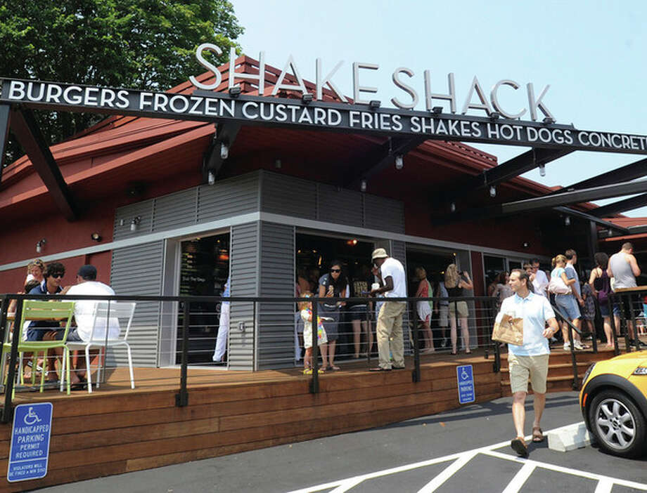 The Shake Shack on the Post Road East in Westport. hour photo/matthew vinci