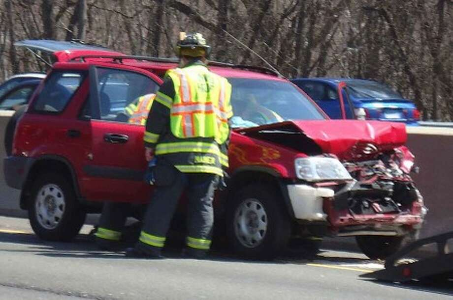 Norwalk fire responds to two serious accidents within 45 minutes on I-95 (Photos)