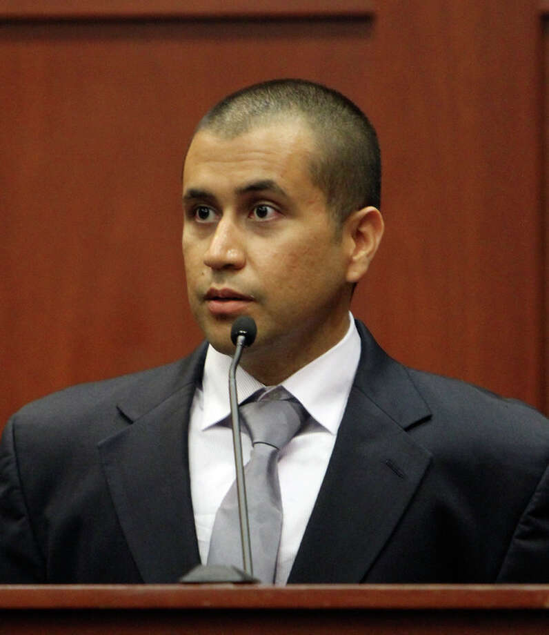 George Zimmerman appears before Circuit Judge Kenneth R. Lester Jr. Friday, April 20, 2012, during a bond hearing in Sanford, Fla. Lester says Zimmerman can be released on $150,000 bail as he awaits trial for the shooting death of Trayvon Martin. Zimmerman is charged with second-degree murder in the shooting of Martin. He claims self-defense. (AP Photo/Orlando Sentinel, Gary W. Green, Pool) / POOL Orlando Sentinel