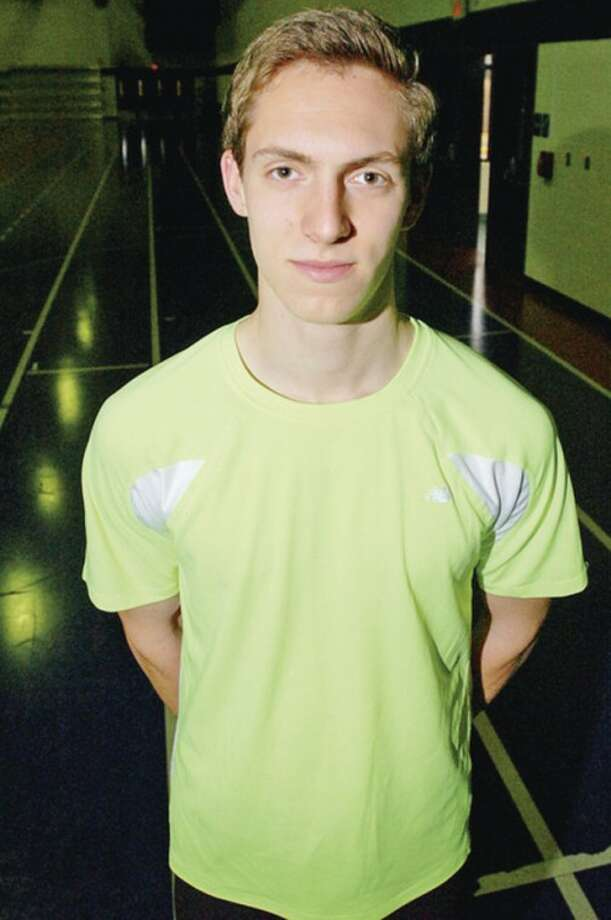 Hour photo/Erik TrautmannStaples High track standout Henry Wynne has been selected as the MVP of The Hour's All-Area boys indoor track team.
