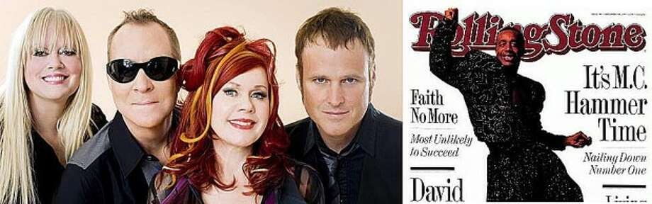 B-52s are Cindy Wilson; Fred Schneider; Kate Pierson and Keith Strickland. Pieter M. van Hattem