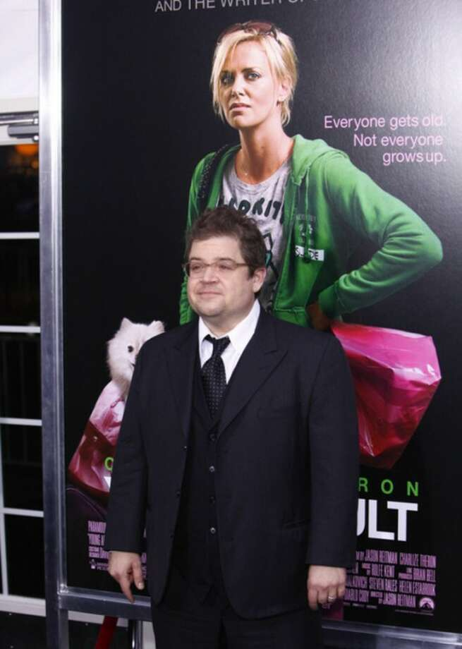 """Actor Patton Oswalt attends the premiere of """"Young Adult"""" at the Ziegfeld Theatre on Thursday, Dec. 8, 2011 in New York. (AP Photo/Peter Kramer)"""