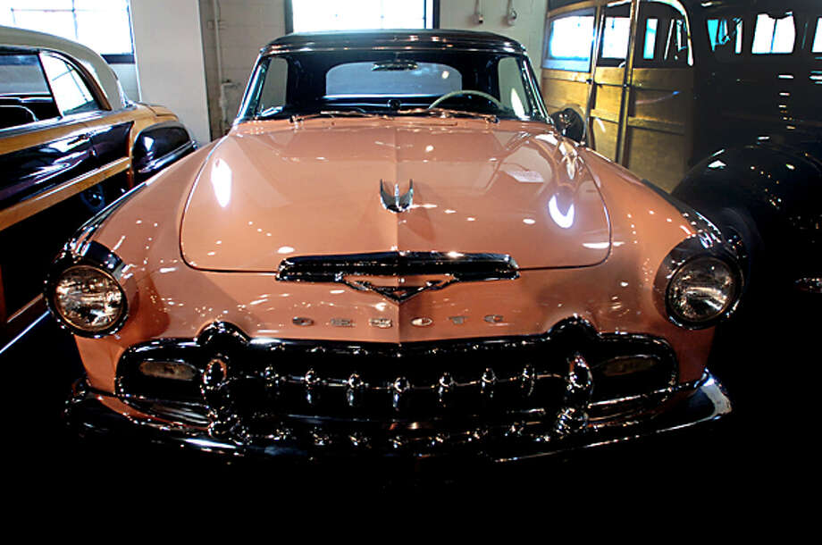 1955 Desoto Fireflight is one of the cars featured at the Dragone Classic Car Auction May 15th. Hour photo / Erik Trautmann / (C)2011, The Hour Newspapers, all rights reserved