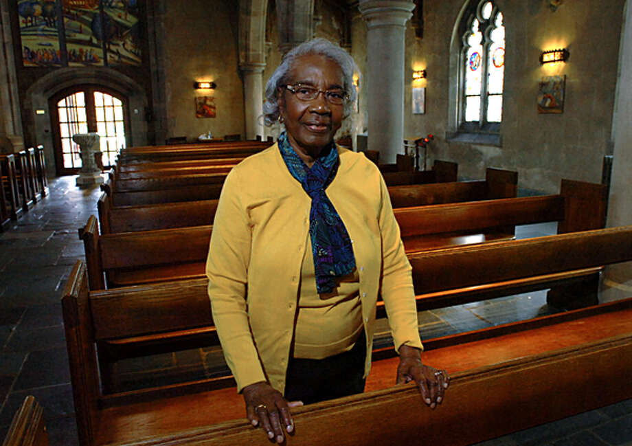 As part of its 275 year anniversary, St. Paul's on the Green is honoring its longest serving members known as Jubilarians including 84 year old Usil Skinner who has been a member of the church for 42 years. Hour photo / Erik Trautmann / (C)2011, The Hour Newspapers, all rights reserved