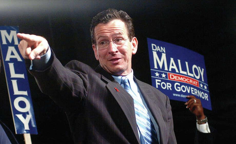 Dan Malloy wins at the democratic convention on Saturday