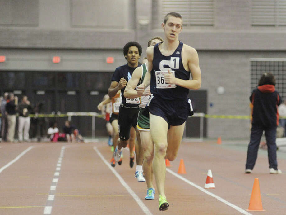Henry Wynne of Staples in the 1,000. hour photo/Matthew Vinci