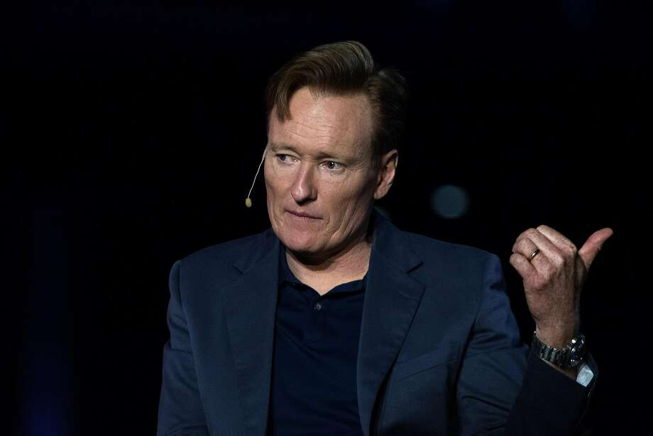 Comedian Conan O'Brien is ready for the Twitter move. Photo: Troy Harvey, Bloomberg