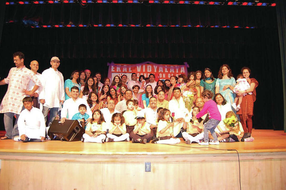 Area families gather at last year's Ekal concert fundraiser. Ekal, a volunteer organization that raises funds for schools in rural parts of India, is hosting this year's concert at Middlebrook School on Sunday at 3 p.m. Contributed photo
