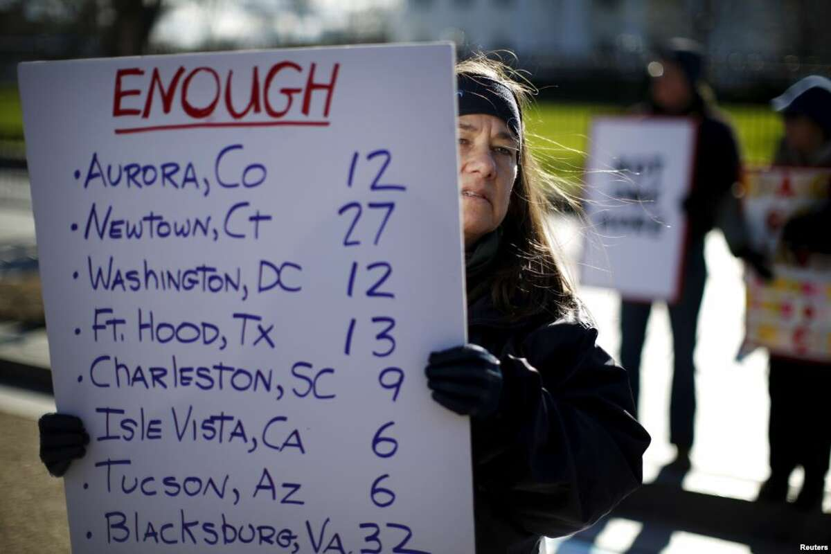 This list is, sadly, longer than it was during a January rally in front of the White House.