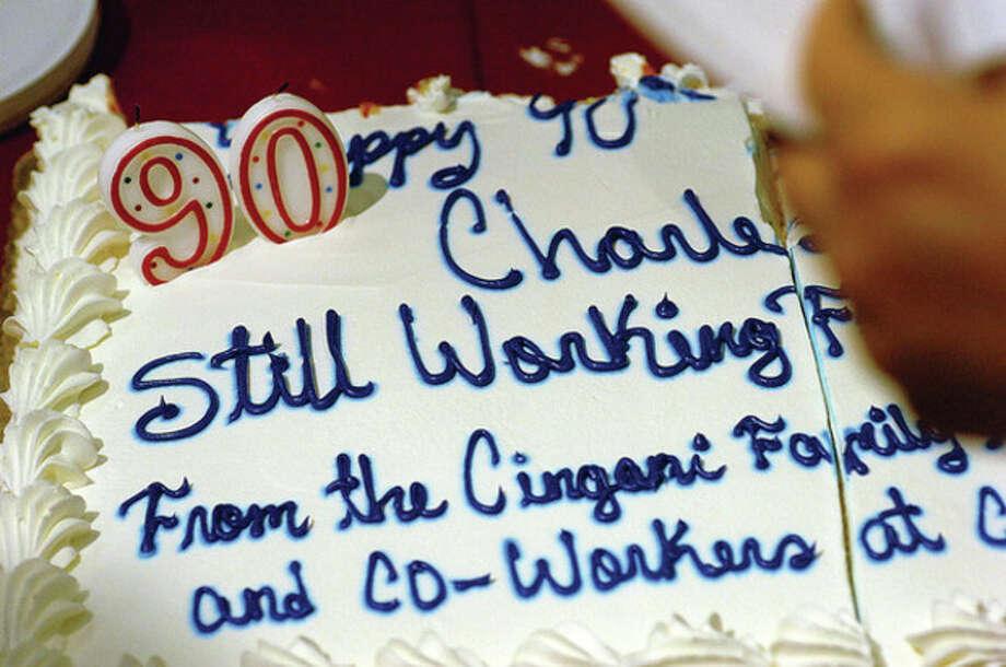 Wondrous Shoprite Employee Celebrates 90Th Birthday The Hour Funny Birthday Cards Online Elaedamsfinfo