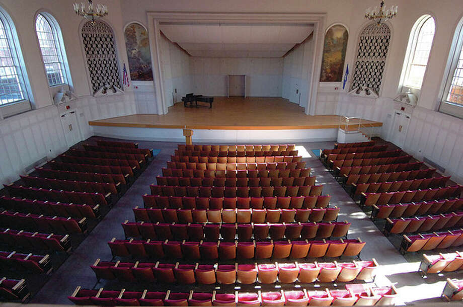 Hour Photo/ Alex von KleydorffThe Norwalk Concert Hall the site of upcoming Fairfield Theater Company shows. / 2013 The Hour Newspapers